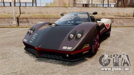 Pagani Zonda C12S Roadster 2001 v1.1 PJ4 für GTA 4