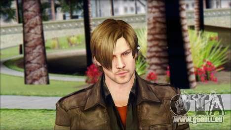 Leon Kennedy from Resident Evil 6 v4 für GTA San Andreas dritten Screenshot