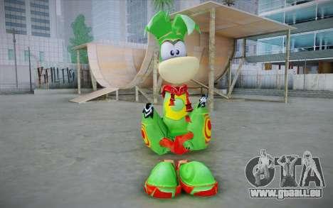 Vortex Rayman Skin pour GTA San Andreas