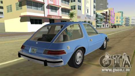 AMC Pacer DL 1978 für GTA Vice City linke Ansicht