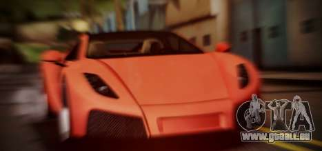 Spano Black pour GTA San Andreas
