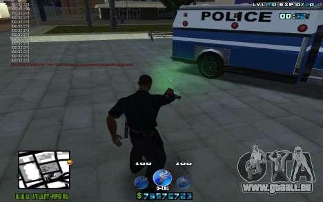 C-HUD by Mr.Riko für GTA San Andreas dritten Screenshot