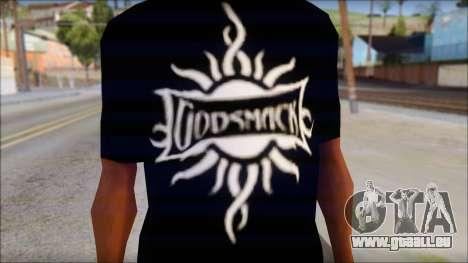 Godsmack T-Shirt für GTA San Andreas zweiten Screenshot