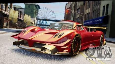 Pagani Zonda Autosport pour GTA 4