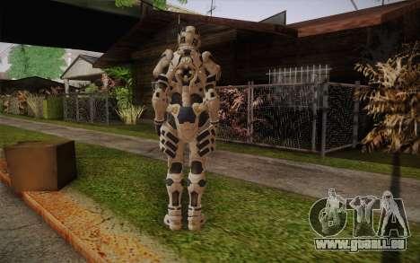 Suit from Vanquish für GTA San Andreas zweiten Screenshot