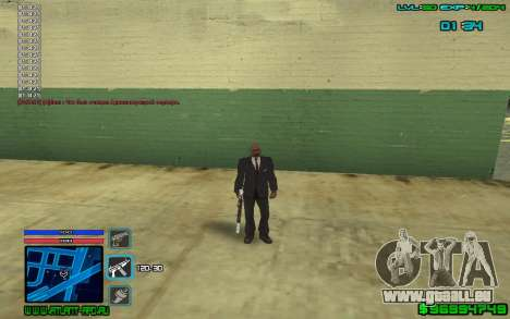 C-HUD by SampHack v.4 für GTA San Andreas zweiten Screenshot