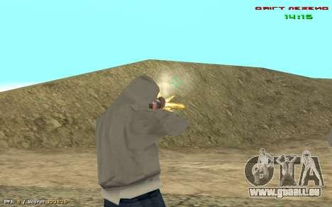 Cheat Blick für GTA San Andreas her Screenshot