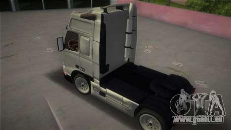 Volvo FH12 Custom pour une vue GTA Vice City de la gauche