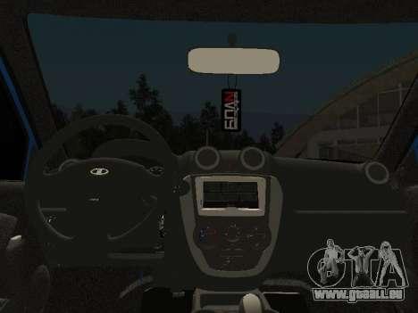 Lada Granta Liftback pour GTA San Andreas vue de côté