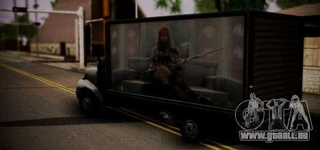 Yankee Final Fanatsy XIII für GTA San Andreas linke Ansicht