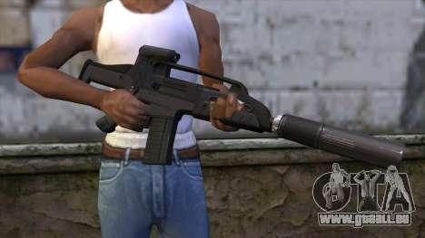 XM8 Compact Black für GTA San Andreas dritten Screenshot