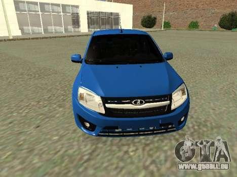 Lada Granta Liftback für GTA San Andreas obere Ansicht