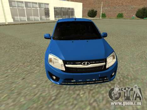 Lada Granta Liftback pour GTA San Andreas vue de dessus