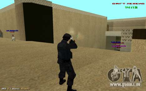 Cheat Blick für GTA San Andreas