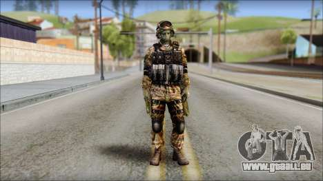 Forest GRU from Soldier Front 2 für GTA San Andreas