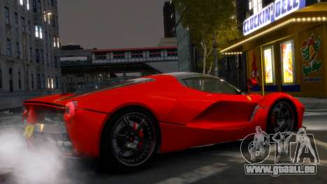 Ferrari LaFerrari WheelsandMore Edition für GTA 4 linke Ansicht