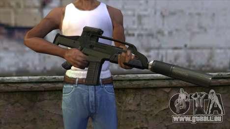 XM8 Compact Green für GTA San Andreas dritten Screenshot