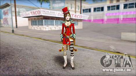 Moxxi from Borderlands für GTA San Andreas