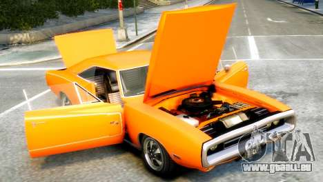 Dodge Charger RT 1970 für GTA 4 rechte Ansicht