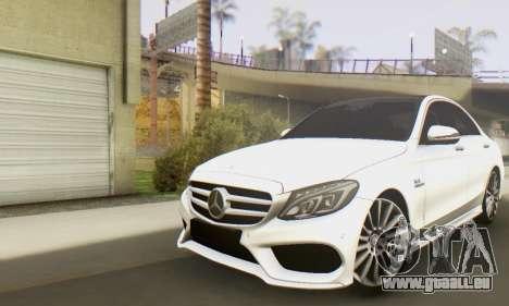 Mercedes-Benz C250 AMG für GTA San Andreas