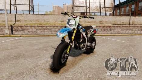 Yamaha YZF-450 v1.9 pour GTA 4