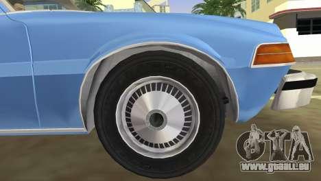 AMC Pacer DL 1978 pour une vue GTA Vice City de la droite