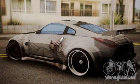 Nissan 350z Angel Beast Itasha Edition für GTA San Andreas linke Ansicht