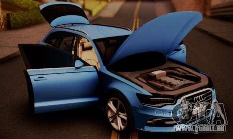 Audi S6 Avant 2014 pour GTA San Andreas vue de droite