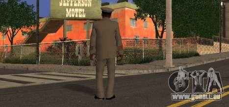 Navy Officer pour GTA San Andreas deuxième écran