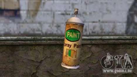 Spraycans from Bully Scholarship Edition pour GTA San Andreas deuxième écran