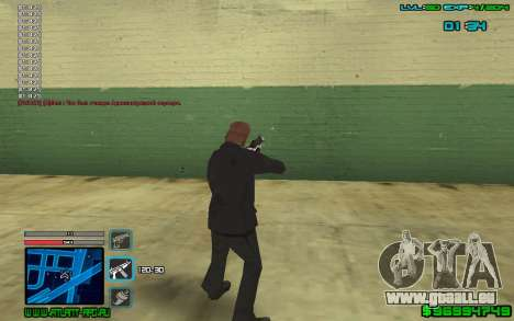 C-HUD by SampHack v.4 für GTA San Andreas dritten Screenshot