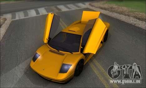 Pegassi Infernus pour GTA San Andreas vue de côté