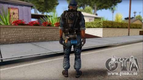 Sami GIGN from Soldier Front 2 pour GTA San Andreas deuxième écran