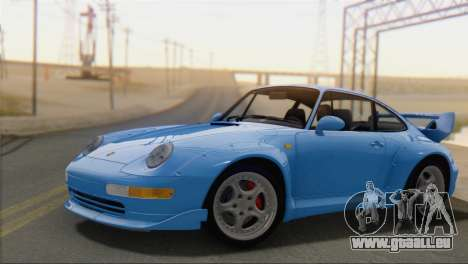 Porsche 911 GT2 (993) 1995 V1.0 SA Plate pour GTA San Andreas
