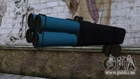 M20 BRS Rocket Launcher pour GTA San Andreas