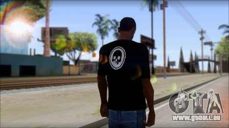 ThreeA T-Shirt pour GTA San Andreas deuxième écran