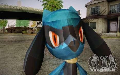 Riolu from Pokemon für GTA San Andreas dritten Screenshot