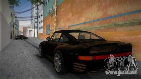 Porsche 959 1986 für GTA Vice City linke Ansicht