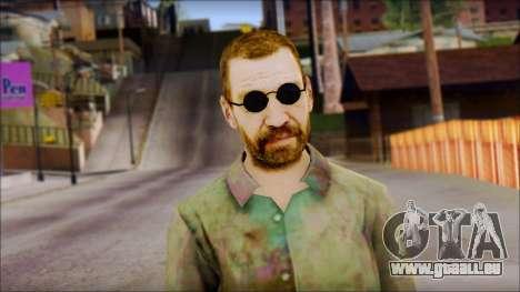 Male Civilian pour GTA San Andreas troisième écran