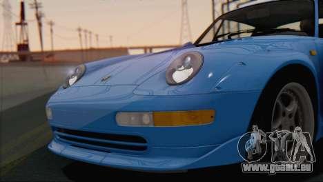Porsche 911 GT2 (993) 1995 V1.0 SA Plate pour GTA San Andreas vue de côté