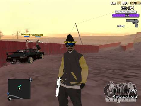 C-HUD by Weezy für GTA San Andreas