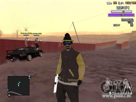C-HUD by Weezy für GTA San Andreas