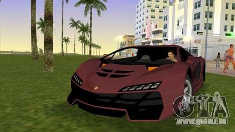 Zentorno from GTA 5 für GTA Vice City