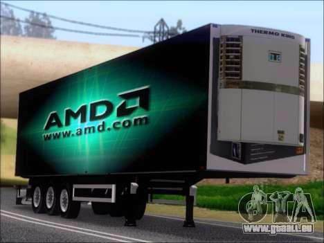 Remorque AMD Phenom X4 pour GTA San Andreas