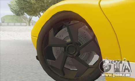 Pegassi Infernus pour GTA San Andreas vue arrière