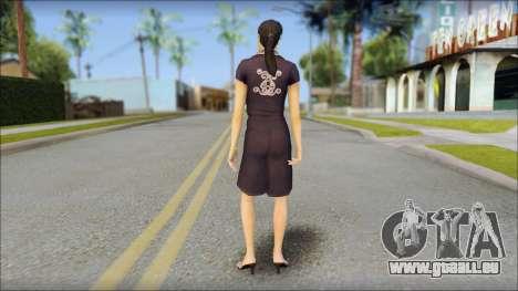 Young Woman pour GTA San Andreas deuxième écran