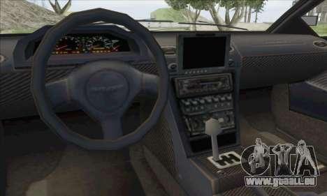 Pegassi Infernus pour GTA San Andreas vue intérieure