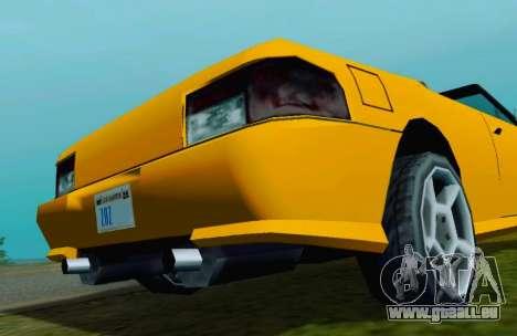 Sultan Сabriolet v2.0 für GTA San Andreas rechten Ansicht