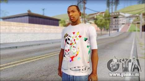 Ed Hardy T-Shirt pour GTA San Andreas