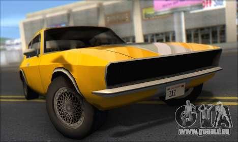 Jensen Intercepter 1971 Fast And Furious 6 pour GTA San Andreas laissé vue